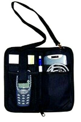 Auto Care Handy Organiser Storage Pouch Car Mobile Phone Note Pad Pen Licence UK
