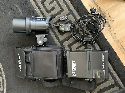 Godox RS600p - Portable flash strobe with wireless trigger VERY GOOD CONDITION