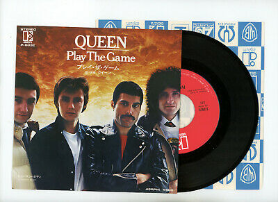 """QUEEN 7"""" Japan PLAY THE GAME"""
