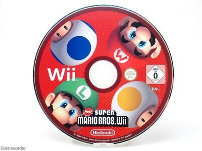 NEW SUPER MARIO BROS.  (Disc)  +Nintendo Wii Spiel+