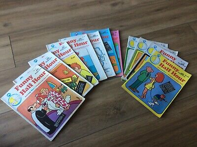 11 Funny Half Hour Adult Comic Books Very Good Condition