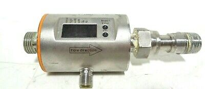 IFM Electronic GMBH SM6004 Magnetic Flowmeter with one SS end fitting