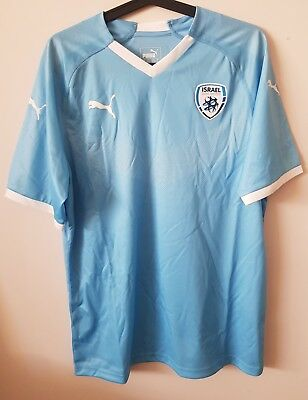 Israel 2018/2019 Authentic Puma Home Shirt Brand New Without Tags Large