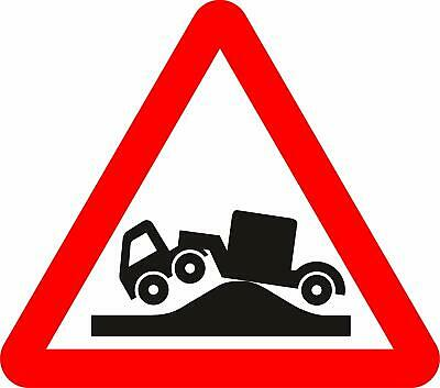 Risk of grounding Road safety sign