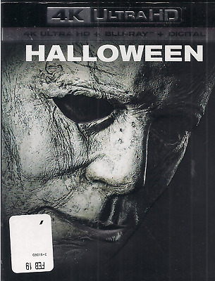Halloween 2018 4K & Blu-ray NO DIGITAL Jamie Lee Curtis