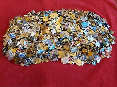Lot of 100 Pins Badges Soviet Union USSR Russia and Other Countries ( wholesale)