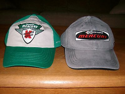 Mercury Outboard Vintage Hats     Sale Is For Two Hats