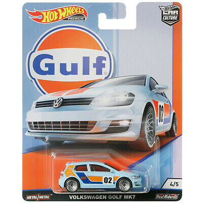 Hot Wheels Car Culture GULF Serie 2019 04 Volkswagen Golf MK7 NEU & OVP