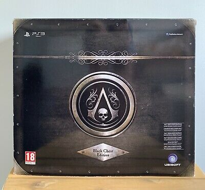 Assassins Creed Black Flag Black Chest Edition PS3 Statue Figure Assassin's