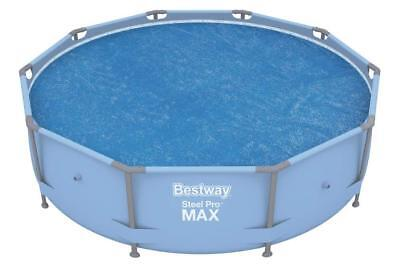 Bestway 10ft Steel Pro and Fast Set Solar Swimming Pool Cover