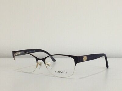 00814eb276 4 Versace 1222 1345 Cat Eye Purple Eyeglasses Optical Frame 53-17-140