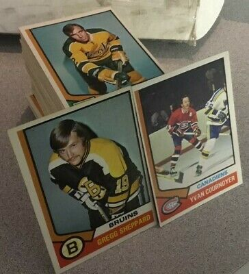 1974-75 74/75 O-Pee-Chee OPC Singles - Complete Your Set [EX-EXMT]