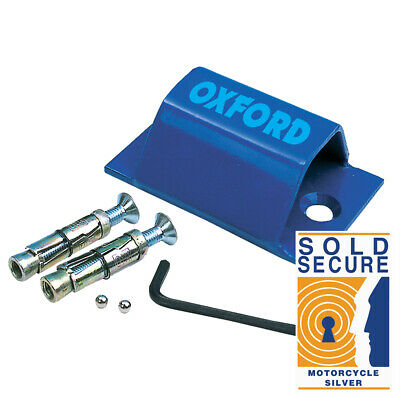 Oxford Brute Force Ground Anchor Sold Secure Motorcycle Quad Scooter