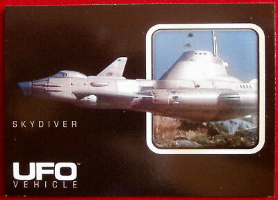 UFO - Individual Card from Base Set, Cards Inc - #017 Skydiver
