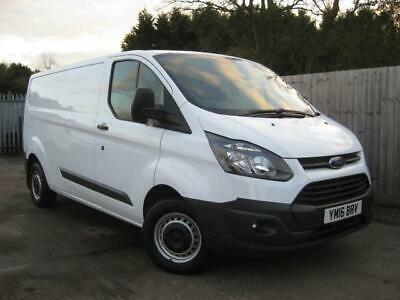 2016(16)Ford Transit Custom 290 2.2 Tdci 100 Ps*6 Sp*lwb L2 H1*b/t*pkg Aids*van