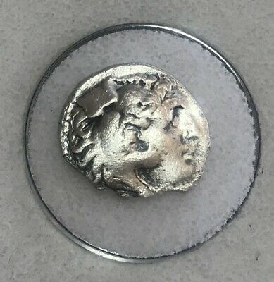 Alexander III The Great Rare Silver Drachm 356-323 BC 3.6 g. VF
