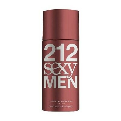 Carolina Herrera 212 Sexy Men 150Ml Deodorant Spray Brand New & Sealed