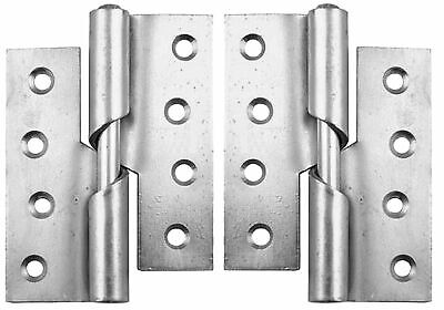 """Pair Steel RISING BUTT Hinges Left / Right Handed Lift Off Door Hinges 466 -3"""""""