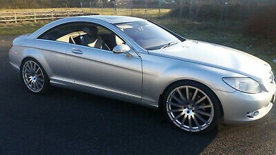 Mercedes CL500 Coupe 2007 7G-Tronic AMG Styling PRIVATE PLATE STUNNING Car