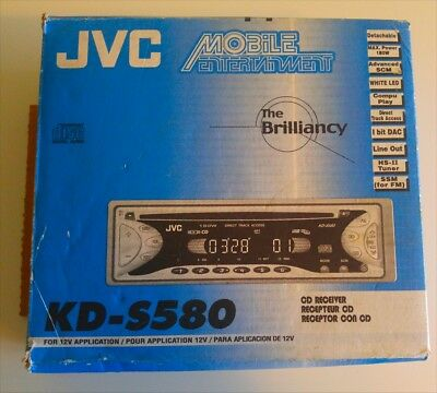 JVC KD-S25 AM/FM CD Car Player In Dash Receiver - $49.99 ... on