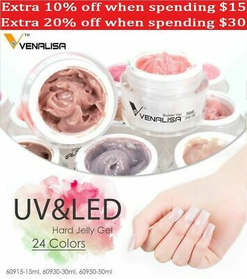 Venalisa 15/30 / 50ml 1kg Nail Poly Gel French Jelly Hard Builder Nail Extend