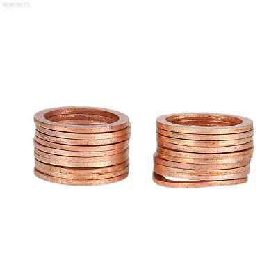 91A1 20*26*1.5mm 20Pcs Gasket New Anti-Crush Washers Sump Plug Solid Copper
