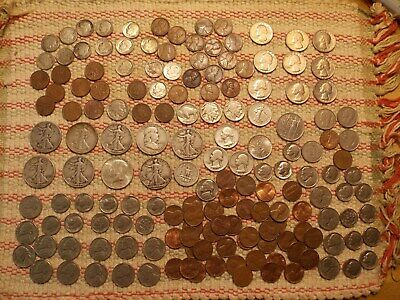 Big Lot of USA coins ,some silver