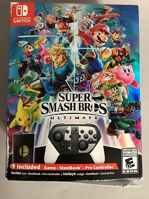 BRAND NEW Super Smash Bros. Ultimate Special Edition Game for Nintendo Switch