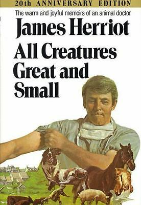 James Herriot All Creatures Great & Small Hardback 20th Ann Edition,