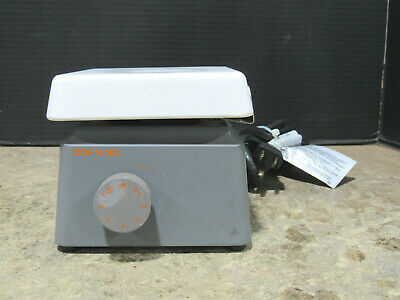 Corning PC-160 Labratory Ceramic Hot Plate 180 Watts Tested and Working