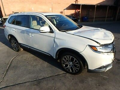 2017 Mitsubishi Outlander SEL 2017 Mitsubishi Outlander SEL Salvage Damaged Repairable! Priced To Sell! L@@K!!