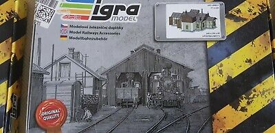 tt gauge engine shed kit made by igra