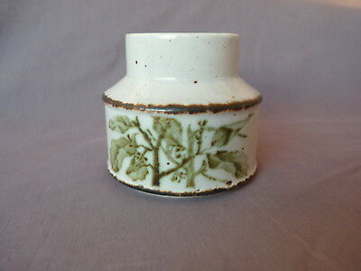 Midwinter Stonehenge Green Leaves Zuckerdose SUGAR BOWL no lid Made in England