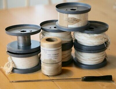 Structo Artcraft Loom Warp Spools/Reels for Pre-War Hexagonal Beam Student Loom