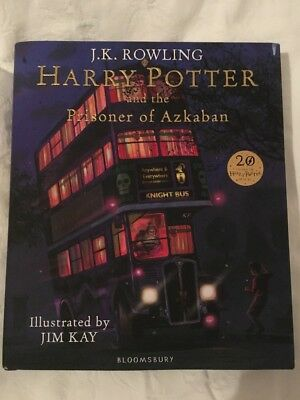 Harry Potter and the Prisoner of Azkaban: Illustrated Edition by J. K. Rowling