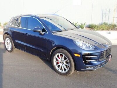 2015 Porsche Macan Turbo AWD 2015 Porsche Macan Turbo AWD Loaded W/ Options!! Ready To Go!! Dont Miss Out!!