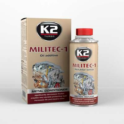 K2 MILITEC-1 250 ML synthetic oil additive treatment / protective coat