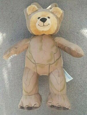 BUILD A BEAR Marvel Guardians of the Galaxy Groot Stuffed Plush BABW Aus Seller