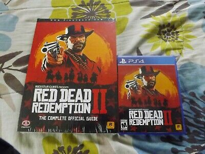 MINT Red Dead Redemption 2 PS4+ NEW STRATEGY GUIDE NR