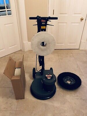 "Victor Contractor 400 15"" Rotary floor buffer machine polisher - unused!"