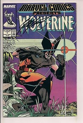 Marvel Comics Presents #1 Wolverine Signed by Chris Claremont wcoa (1988 Marvel)