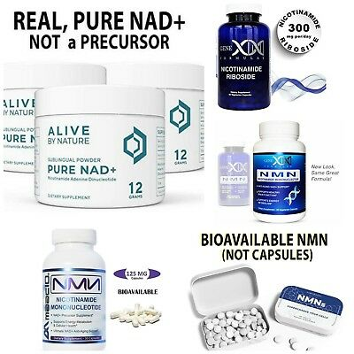 ✨PURE NAD+ NICOTINAMIDE Mononucleotide Direct NMN Supplement Anti Aging DNA  Powd