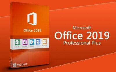 Microsoft Office 2019 Pro Plus Key Email Downloadlink MS Professional 32/64 Bit