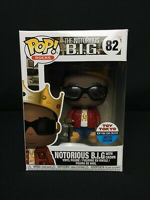 Funko Pop Notorious B.I.G #82 Toy Tokyo Exclusive