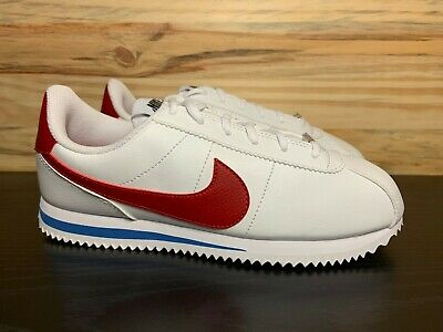 pretty nice d1920 348d1 NIKE CORTEZ LEATHER Forrest Gump Red White Blue Men's Shoes Size 6  904764-103