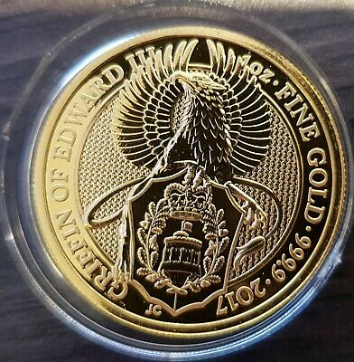 1oz Gold Coin - Queens Beast - The Griffin