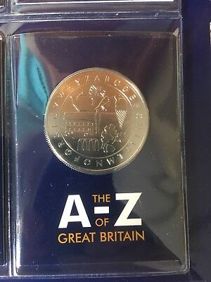 10p Coins 2018 UK EARLY STRIKE complete A to Z 10p Set with completer (ref443)