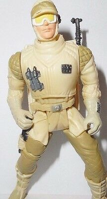 STAR WARS power of the force HOTH REBEL TROOPER soldier deluxe complete potf