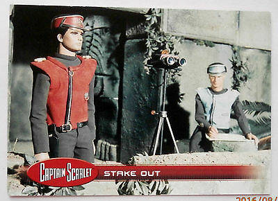 CAPTAIN SCARLET - Individual Trading Card #29, Stake Out, Unstoppable Cards 2015