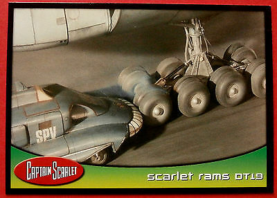 CAPTAIN SCARLET - Card #33 - Scarlet Rams DT19 - Cards Inc. 2001